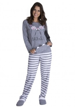 Pijama longo Cute adulto Plush (LUXO)