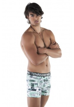 Cueca Boxer Romantic Estampada