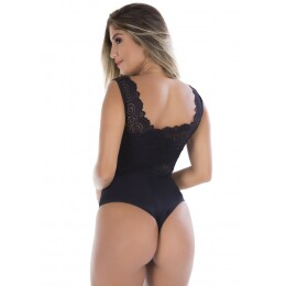 Body Fashion Dominic Microfibra e Renda Luxo